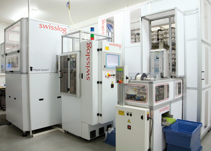 Swisslog Pillpick Automated Packaging And Dispensing System